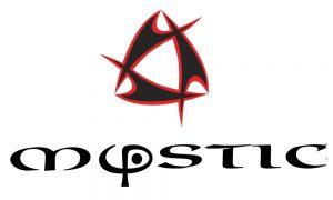 Mystic logo white